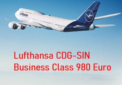 Lufthansa Businessクラスがお買い得