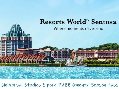 Universal Studios S'pore FREE 6month Season Pass